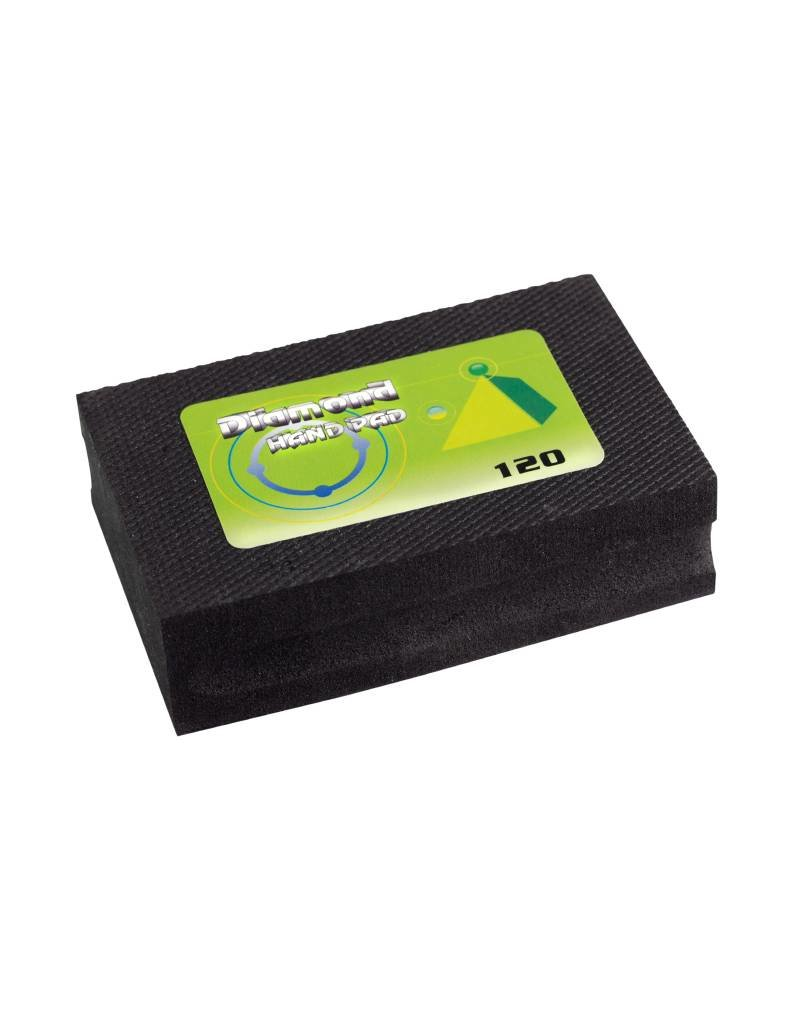 CRTE CRTE Diamond Hand pad 120 grit (Coarse/Black)
