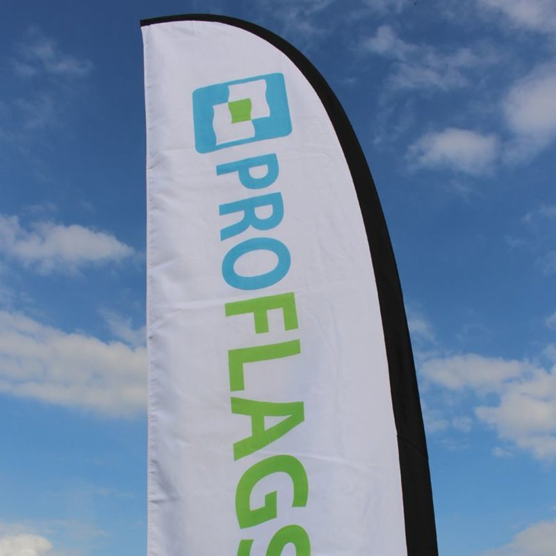 Beachflag Straight S - 60x240cm