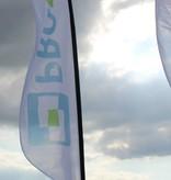 Beachflag Convex M - Ekstra bred - 90x300cm