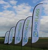 Beachflag Convex M - Extra Breit - 90x300cm