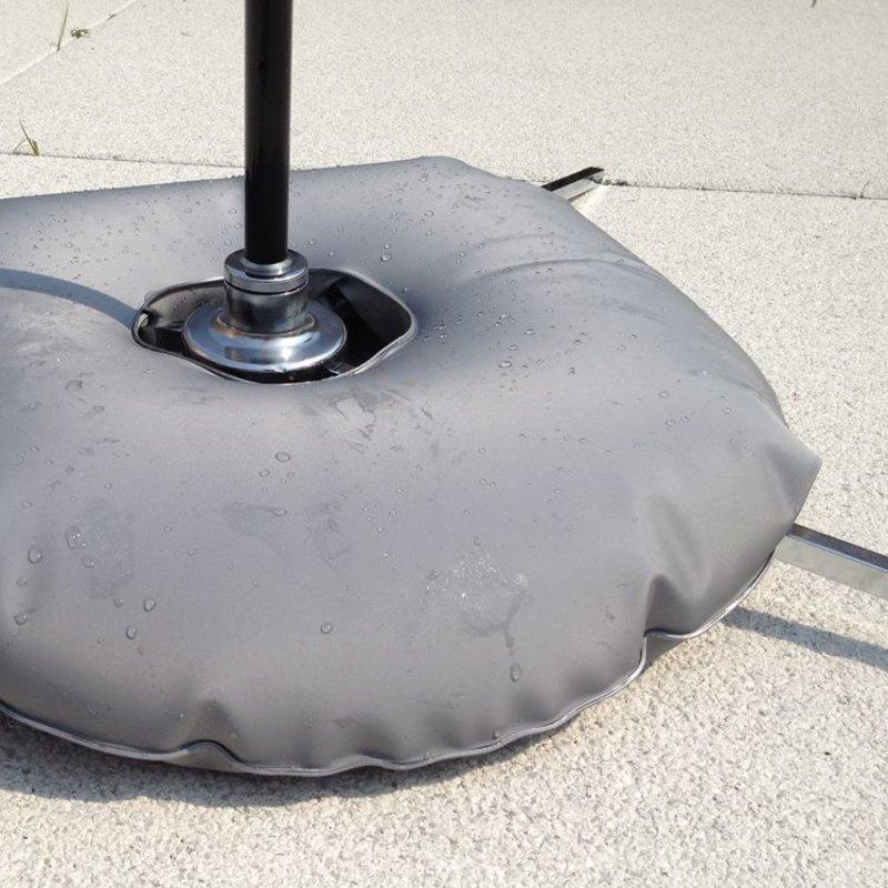 Base cruceta de lujo con bolsa de agua gris