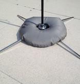 Luxury cross base with grey water bag