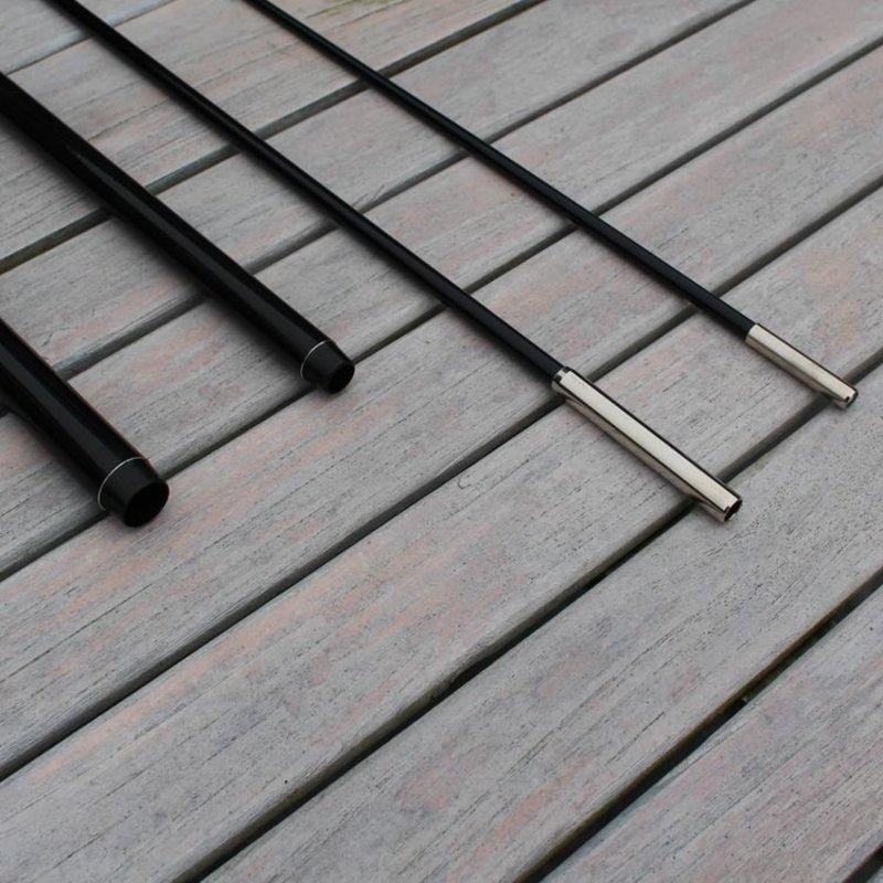 Beachflag Mast XS, schwarz