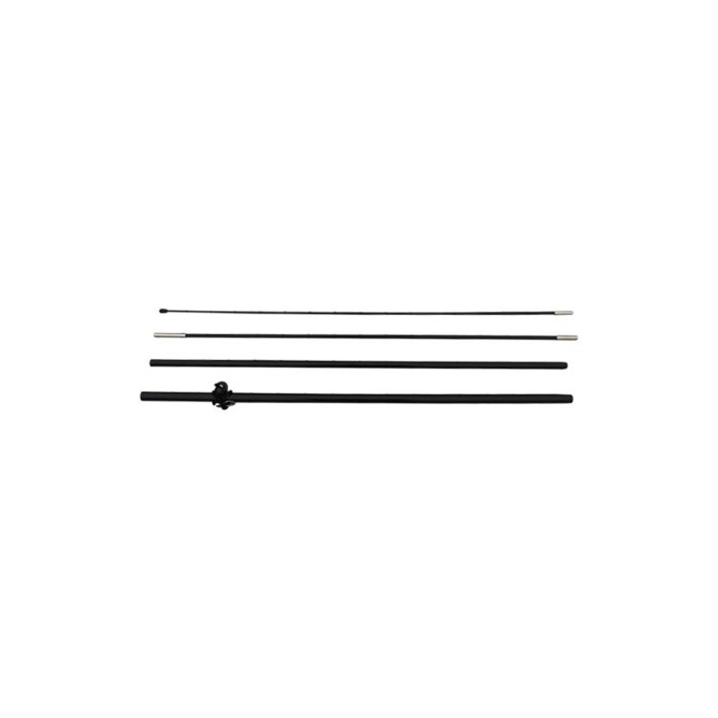 Beachflag mast S, zwart