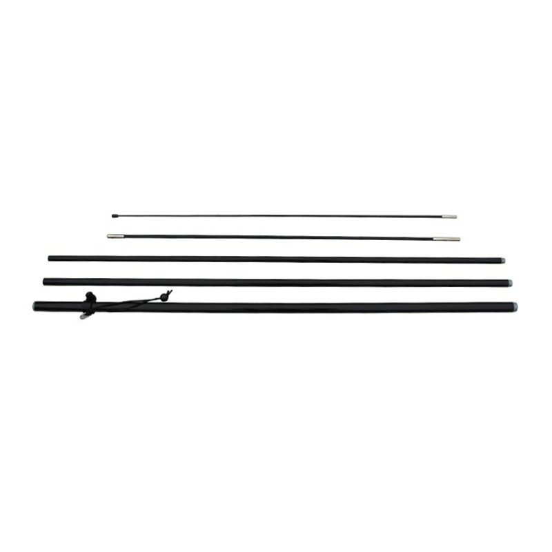 Beachflaggstång L, svart