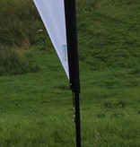 Teardrop flag