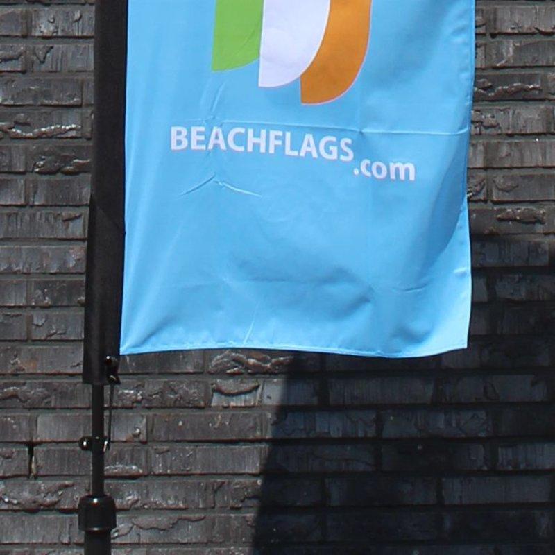 "Beach flag Straight XS - 60x186cm (24"" x 73"")"