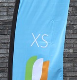 Beach flag Straight XS - 60x186cm