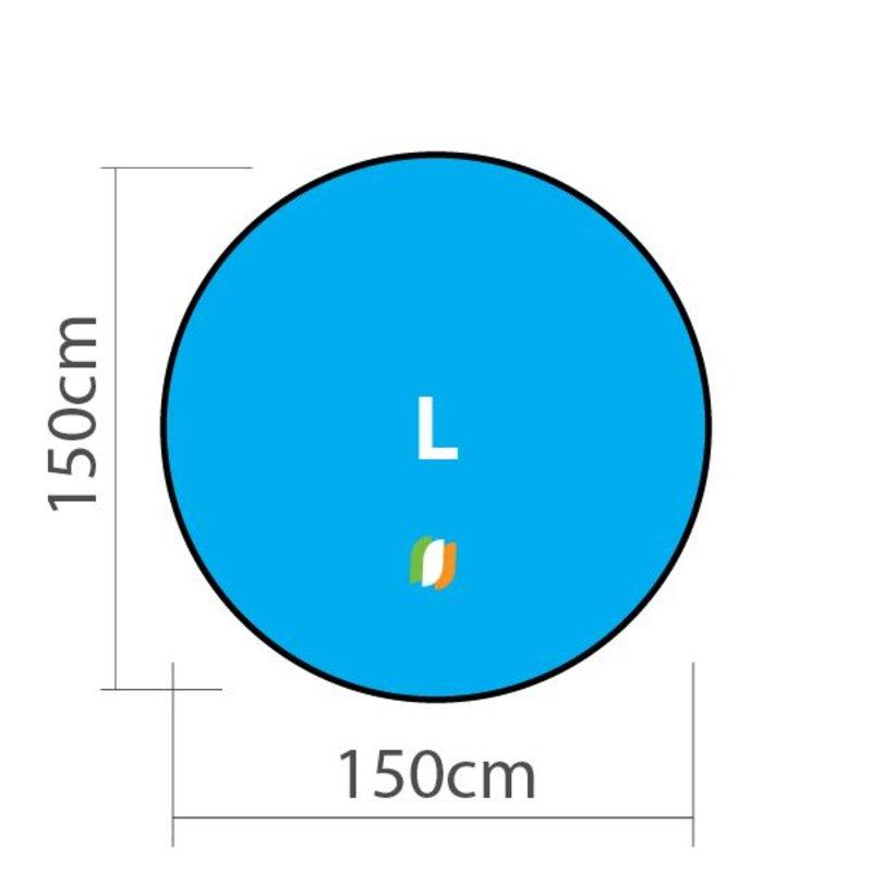 Beach banner Round - L 150x150 cm