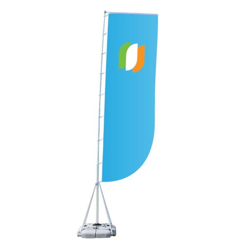 Mega flag Convex L