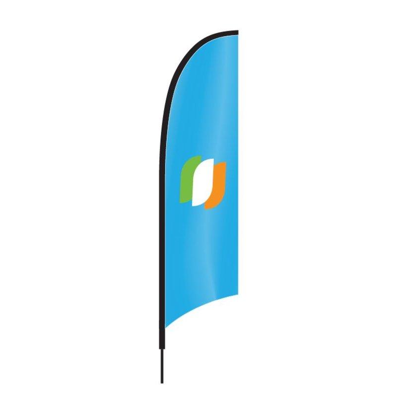 Beachflag Concave
