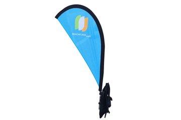 Backpack Banner Flying