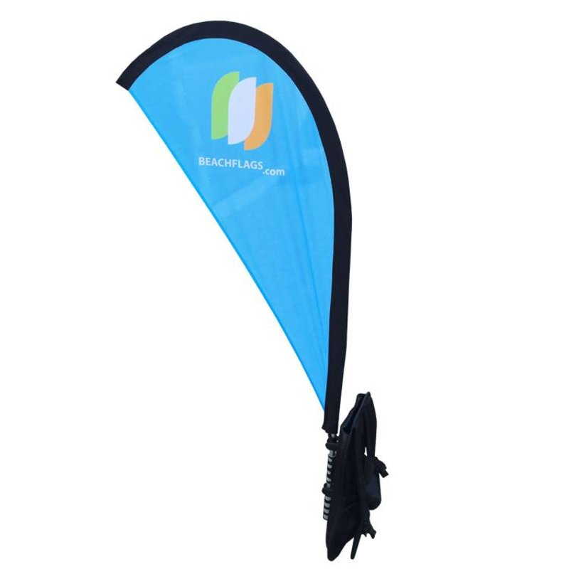 Backpack banner Flying