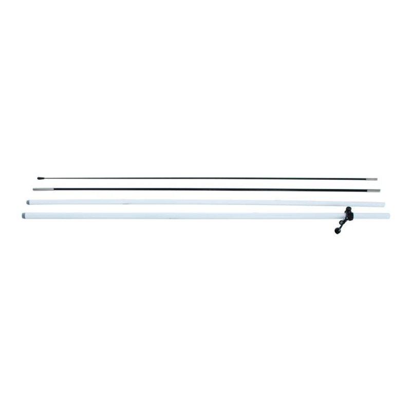 Beach flag pole M, white