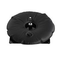 Bodenplatte, schwarz mit Wassersack schwarz