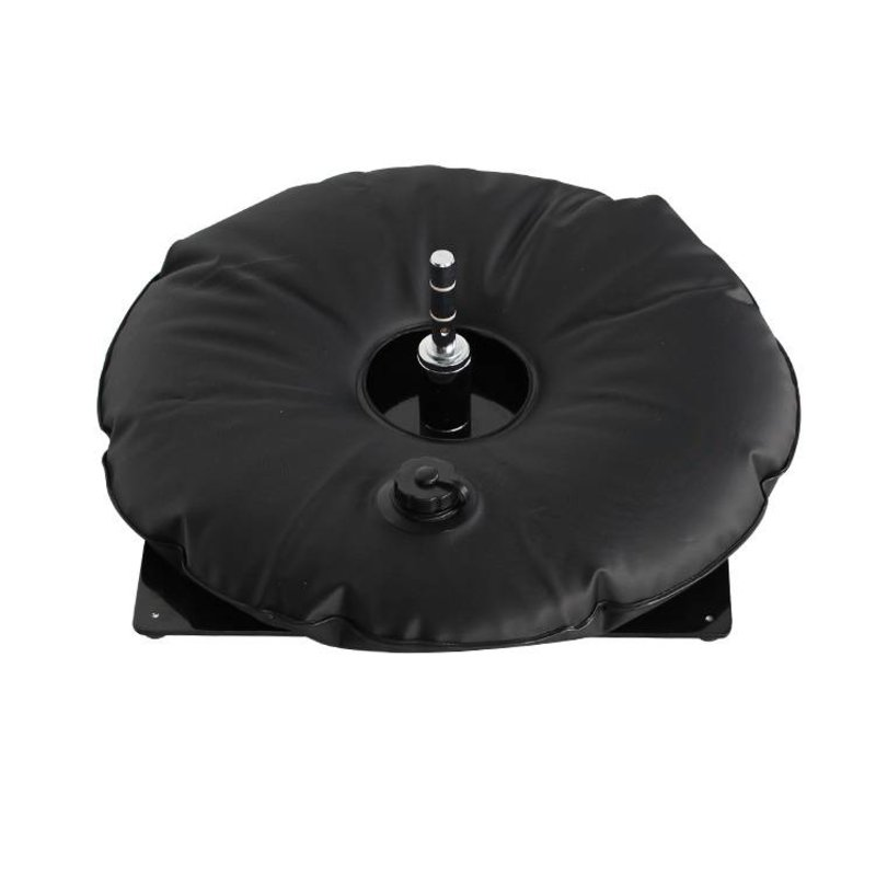 Metalfod, sort med vandpose sort