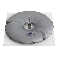 Metalfod, tung, vit med vandpose grå