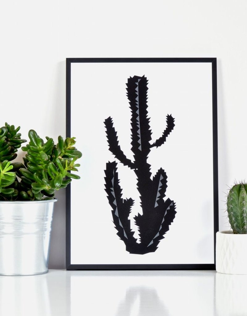 Cactus Poster A3 Ingrid Petrie