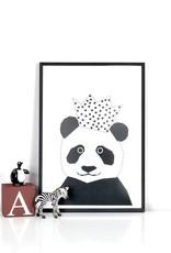 Panda Poster Ingrid Petrie A4