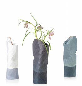 Pepe Heykoop paper vase small, grey