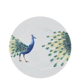 Ontbijtbord 21 cm Peacock Head Catchii