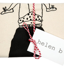 Helen B. tea towel trapeze girl