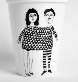 Happy together koffie beker Helen B. design