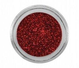 Glitterpoeder 3 gr Rood