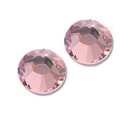 Strass steentjes rond Light Rose