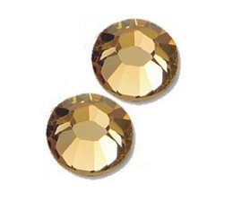 Strass steentjes rond Light Colorado Topaz