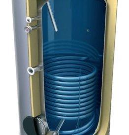Buffervat 200 Liter, indirect gestookt, met 1 warmtewisselaar