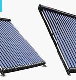 TechniQ-Energy 18 Heatpipe vacuümbuis zonneboiler collector, inclusief plat of schuin dak constructie