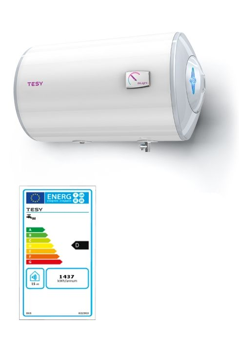 Tesy horizontale elektrische boiler 120 liter