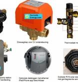 TechniQ-Energy 800L hygiëne zonneboiler set (90HP) met (vloer)verwarming- en tapwaterondersteuning