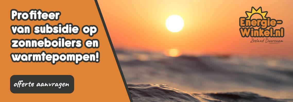 Zeeland Duurzaam - Profiteer van subsidie op zonneboilers en warmtepompen