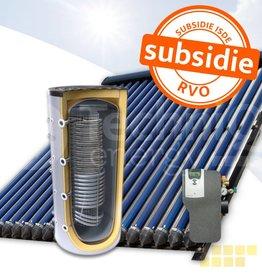 TechniQ-Energy 1000L hygiëne zonneboiler set (120HP) met (vloer)verwarming- en tapwaterondersteuning