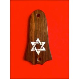 "Truss Rod Cover ""Star of David"""
