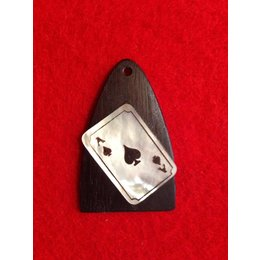 "Truss Rod Cover ""Ace of Spades"""