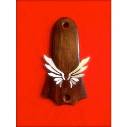 "Truss Rod Cover ""Wings"""