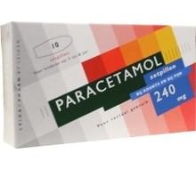 LEIDAPHARM Paracetamol 240mg (10zp)