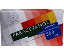 LEIDAPHARM Paracetamol 500mg (10zp)