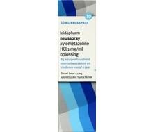 LEIDAPHARM Xylometazoline HCI 0.1% spray (10ml)