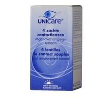 UNICARE Maandlenzen -1.00 (4pack)