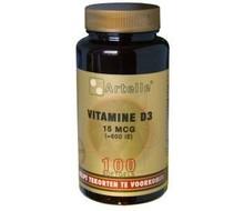 ARTELLE Vitamine D3 15 mcg (100cap)