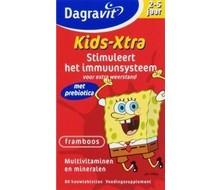 DAGRAVIT Multi kids framboos 2-5 jaar (60kt)