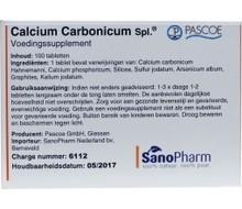 PASCOE Calcium carbonicum N similiaplex (100tab)