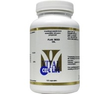 VITAL CELL LIFE Flax seed oil 1000mg (100cap)