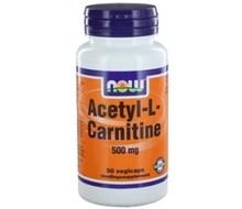 NOW Acetyl L carnitine 500mg (50cap)