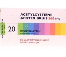 APOTEX Acetyl cysteine 200 mg (20bt)