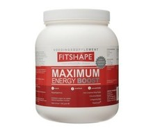 FITSHAPE Performance drink voorheen Maximum energy boost (1250g)